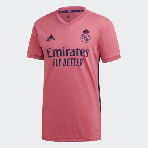 Camiseta visitante del Real Madrid 20/21 REAL A JSY GI6463