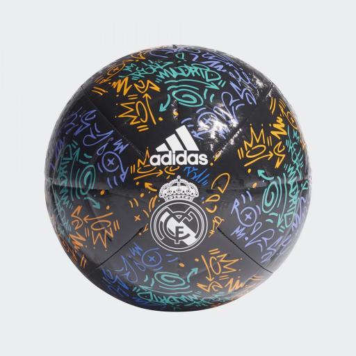 Balon Real Madrid GU0223 RM CLB NEGRO talla 5