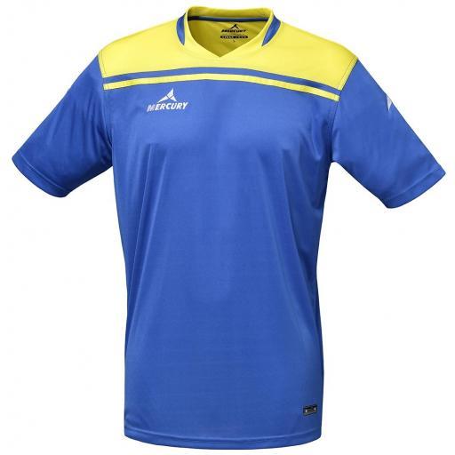 Camiseta Mercury Liverpool Azul Royal / Amarillo MECCBG-0107