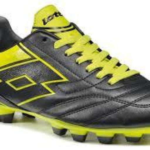 LOTTO SPIDER IX HG-28  NEGRO AMARILLO R2628