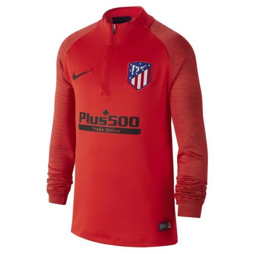 Sudadera entrenamiento del Atlético de Madrid 2019-2020 Adulto AO5187-601