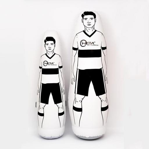 Muñeco de futbol inflable de diferentes medidas
