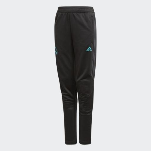 Pantalon de Entrenamiento Real Madrid Negro BQ7936