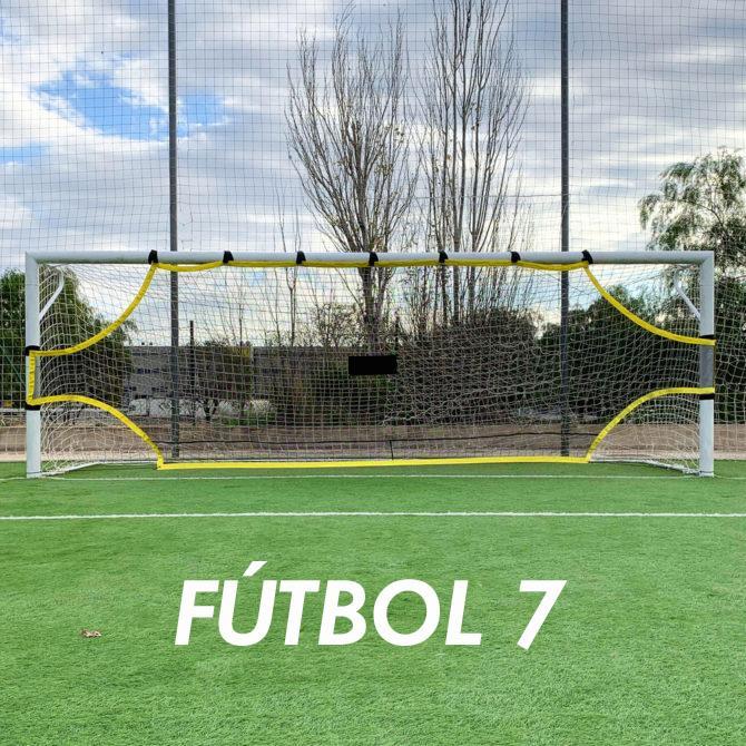 Red Precisión Para Portería Futbol 7