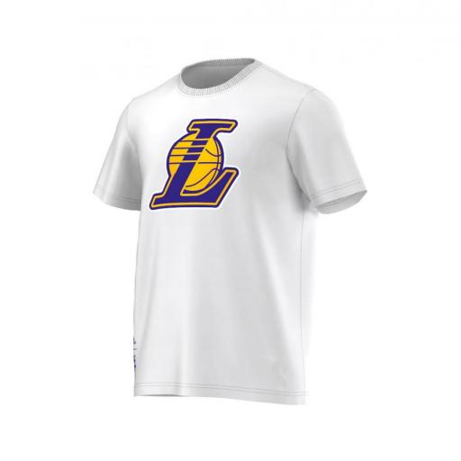CAMISETA NBA LAKERS S29934 BLANCO