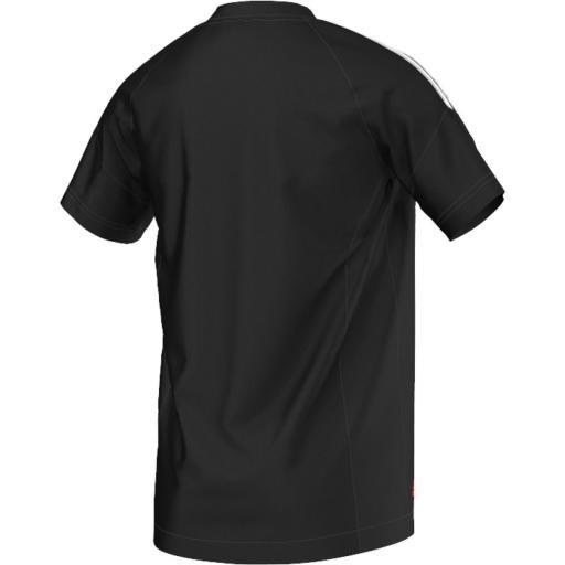 Camiseta Predator negra-roja S88062 [1]
