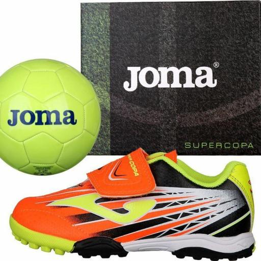 SUPER COPA JR 908 NARANJA TURF SCJS.908.TF