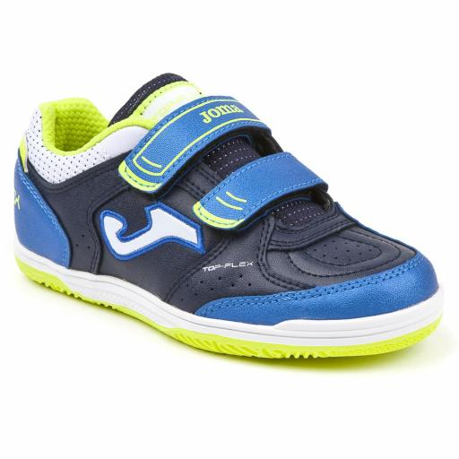 TOP FLEX JR 803 NAVY VELCRO INDOOR TOPJS.803.IN