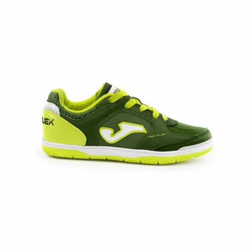 TOP FLEX JR 923 GREEN-FLUOR INDOOR TOPJW.923.IN