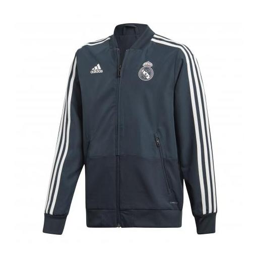 CHAQUETA ADIDAS REAL MADRID JUNIOR T18/19 CW8637
