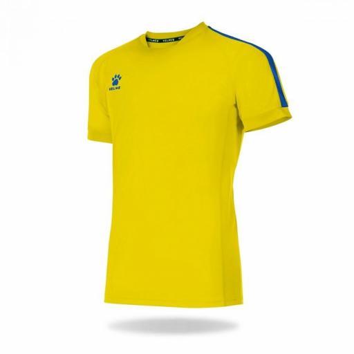 Camiseta Global 78062 293 Amarillo y Royal