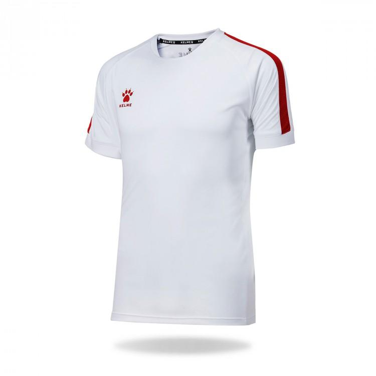 Camiseta Global 78062 0140 BLANCO Y ROJO