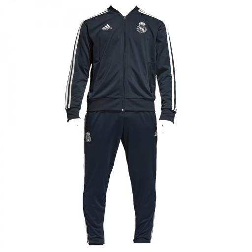 CHANDAL COMPLETO REAL MADRID ACETATO AZUL MARINO