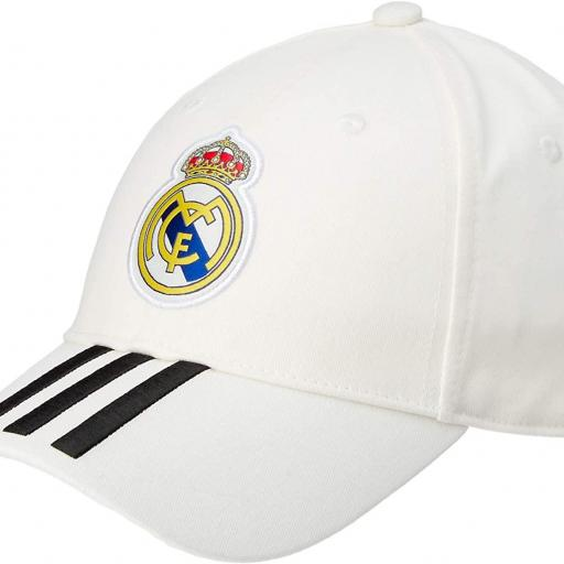 Gorra Real Madrid CY5600 blanca [3]