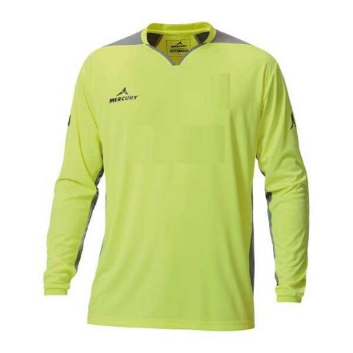 Camiseta Portero Mercury Wembley Amarillo Fluor / Gris