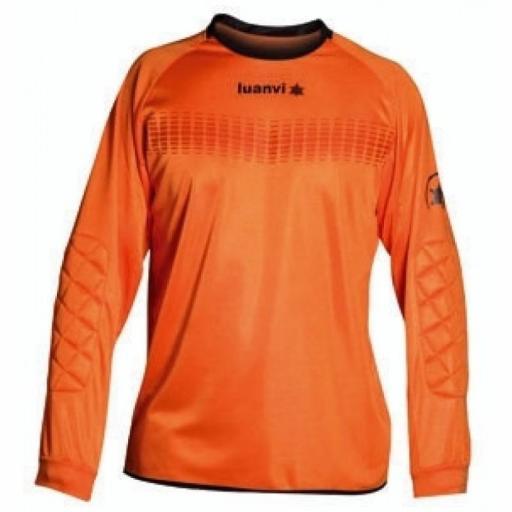 Camisa de Portero Luanvi Arco naranja 05664 0304