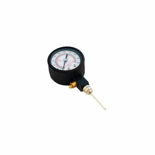 Medidor de presión con aguja