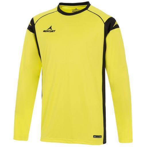 Camisa de Portero Mercury Palermo Amarillo / Negro MEEYAN-0703