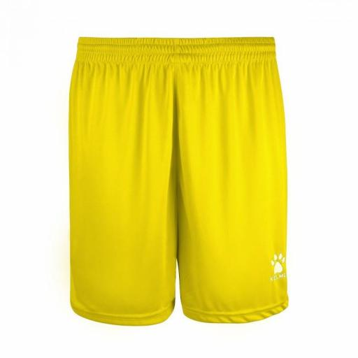PANTALÓN CORTO KELME GLOBAL 75053 151 AMARILLO