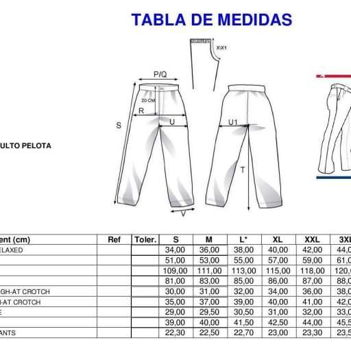 Pantalón Pelotari Profesional Astore   [1]
