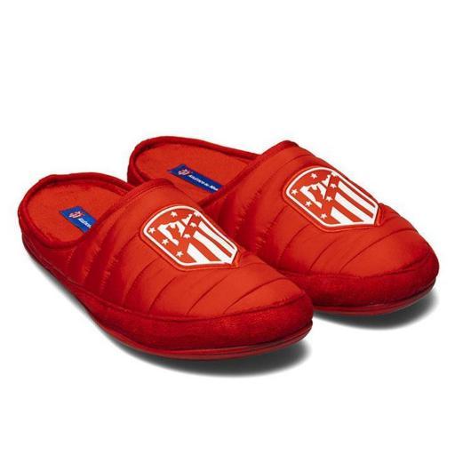 Zapatillas de estar en casa Atlético Madrid Rojo [1]