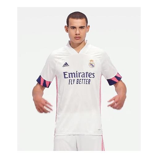 Camiseta local del Real Madrid 20/21 REAL H JSY BLANCO FM4735