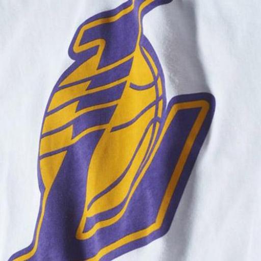 CAMISETA NBA LAKERS S29934 BLANCO [2]