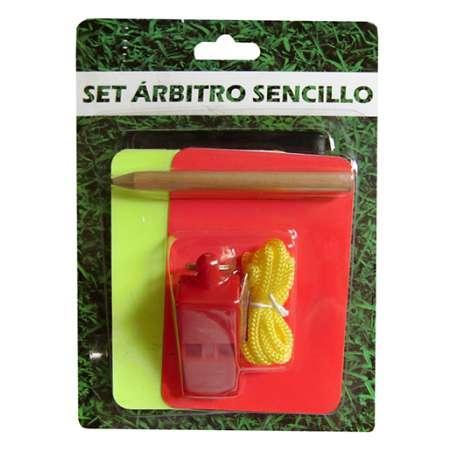 SET ARBITRO SENCILLO 0004013