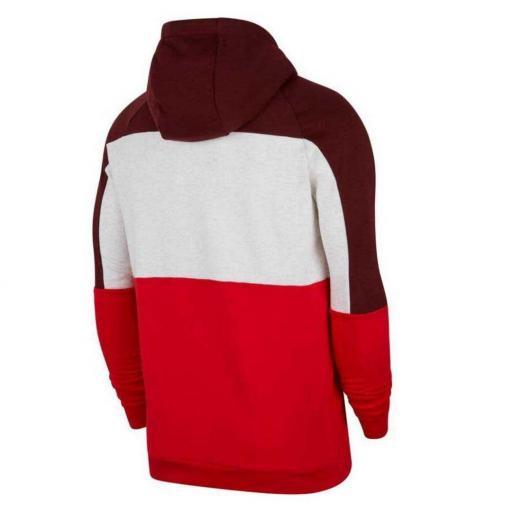 Sudadera Nike Dri-Fit Pullover Training - Dátiles místicos/Abedul jaspeado/Rojo universitario/Rojo CU6024-624 [2]
