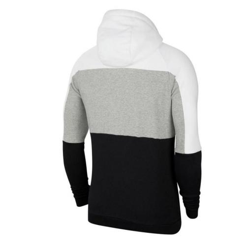 Sudadera Nike Dri-Fit Pullover Training - Blanco / Gris oscuro jaspeado / Negro CU6024-100 [1]