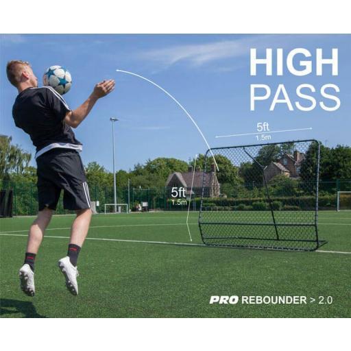 Pro Rebounder 1,50 x 1,50 metros Quickplay [2]