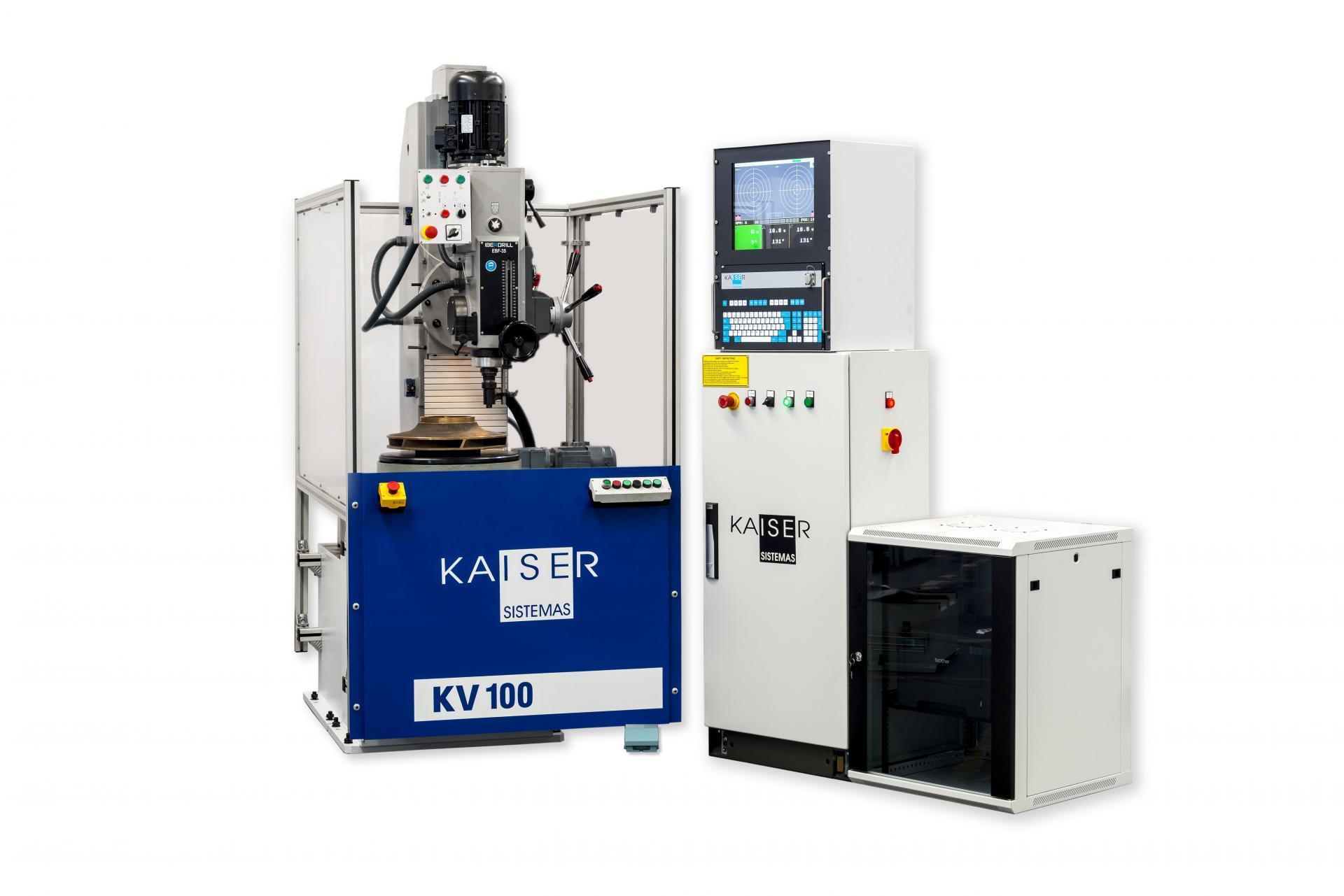 REF 17 - MODEL KV30-100TFV VERTICAL BALANCING MACHINE