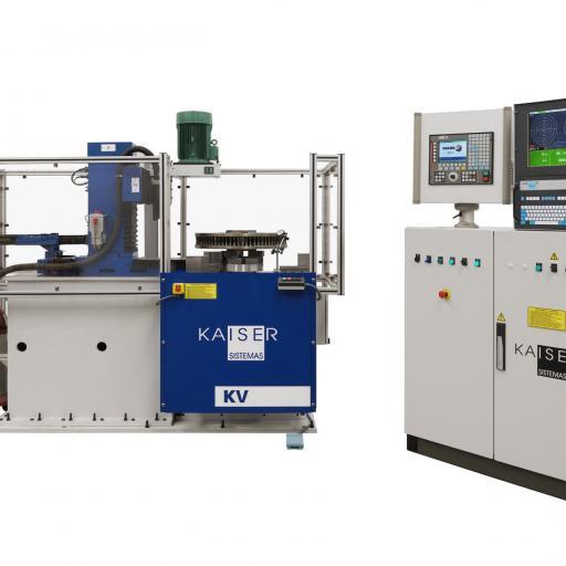 REF 18 - MODEL KV300-600-TFV-CNC3-CE VERTICAL BALANCING MACHINE