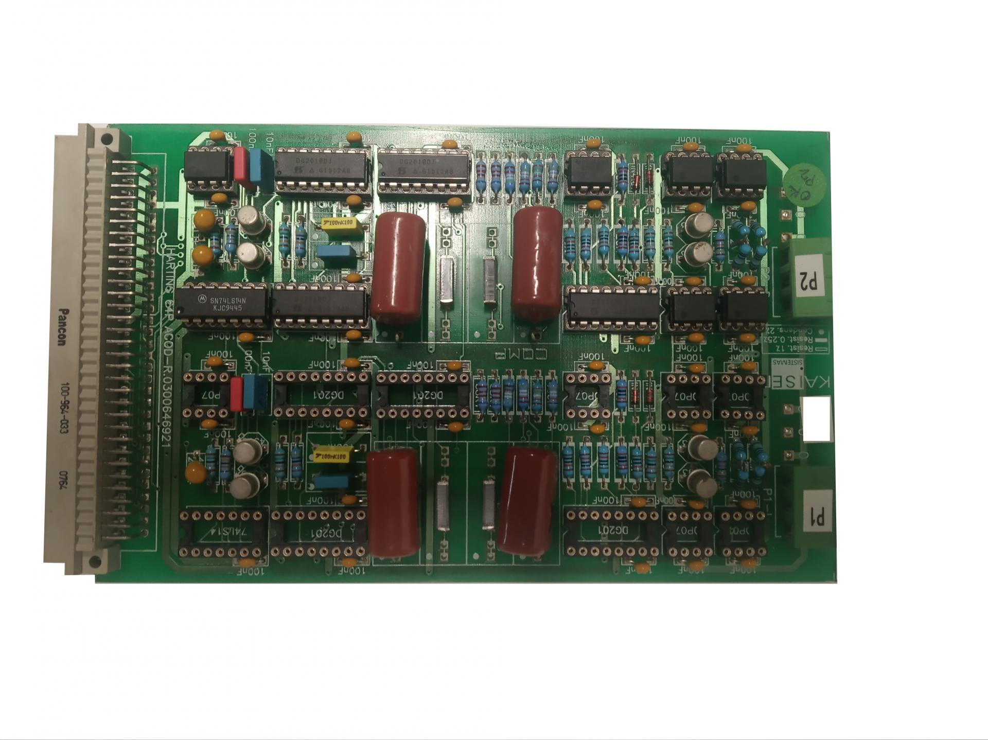 PL2 PCB FILTER BOARD