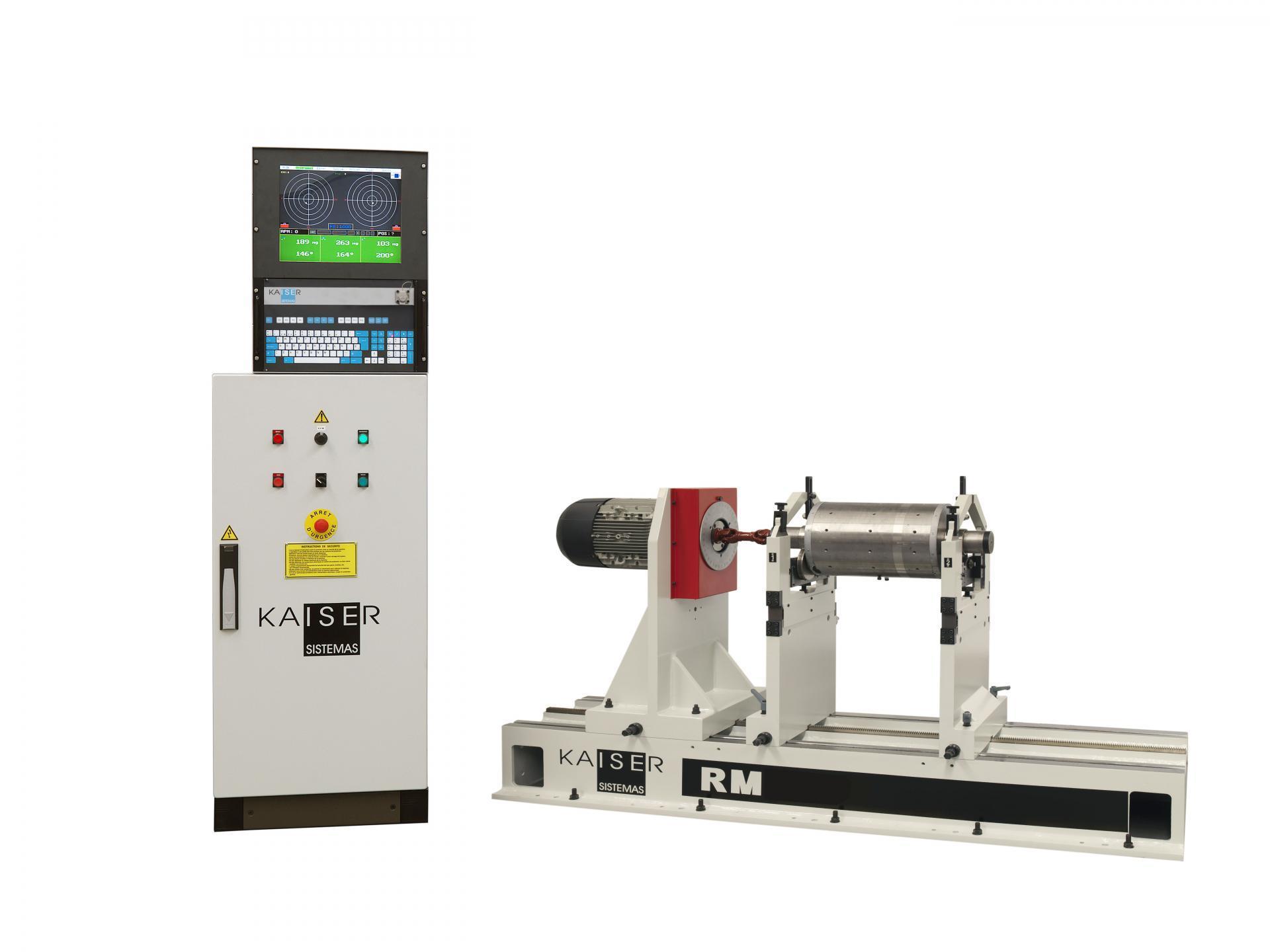 REF 07 - MODEL RM1000.2 HORIZONTAL BALANCING MACHINE