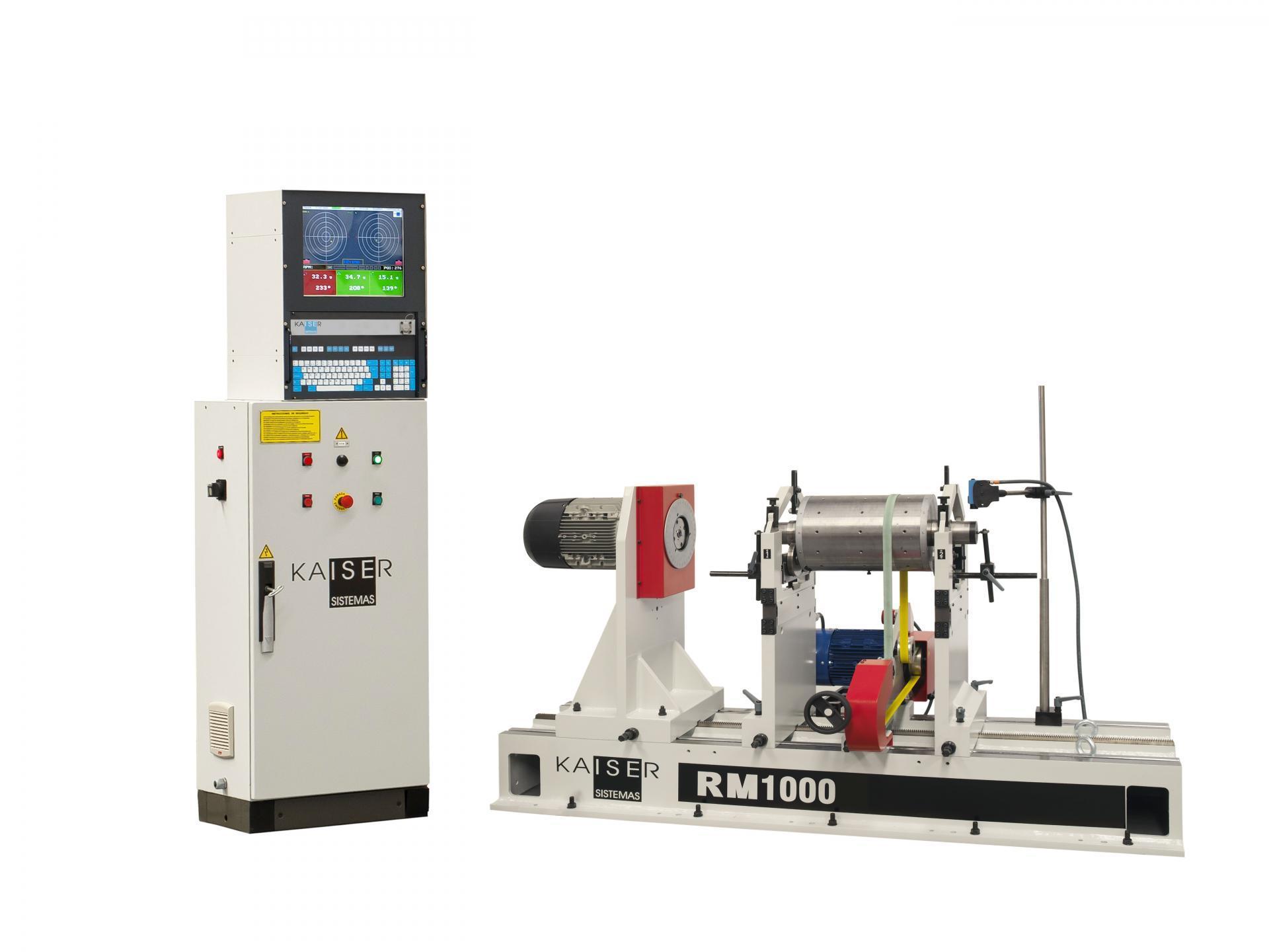 REF 08 - MODEL RM1000.3 HORIZONTAL BALANCING MACHINE