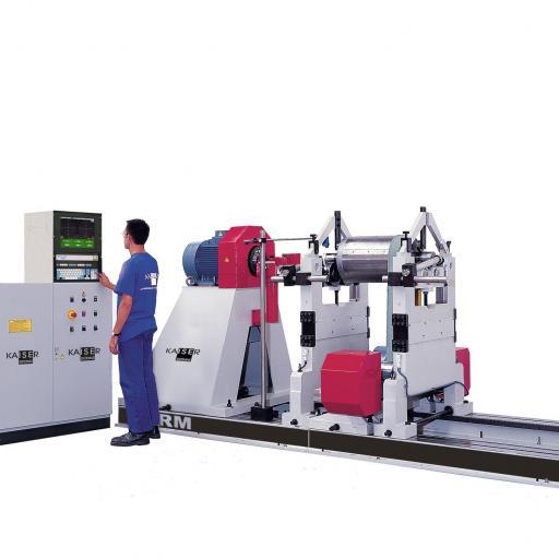 REF 16 - MODEL RM10000-20000-30000.3 HORIZONTAL BALANCING MACHINE