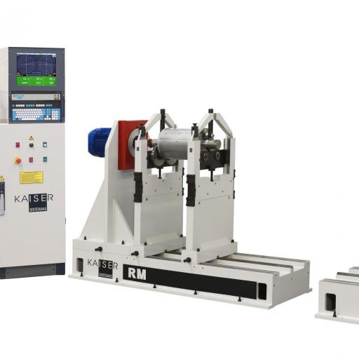 REF 10 - MODEL RM2000.2 HORIZONTAL BALANCING MACHINE