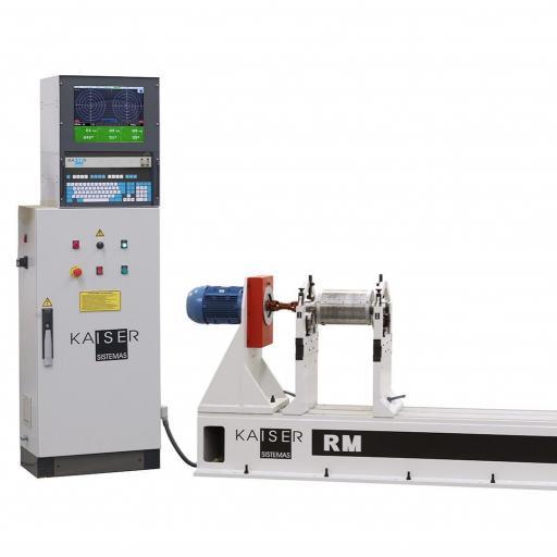 REF 04 - MODEL RM300.2-RM500.2 HORIZONTAL BALANCING MACHINE