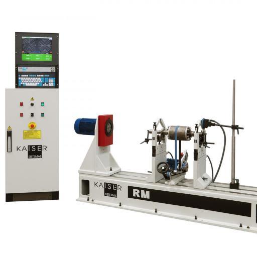 REF 05 - MODEL RM300.3 - RM500.3 HORIZONTAL BALANCING MACHINE
