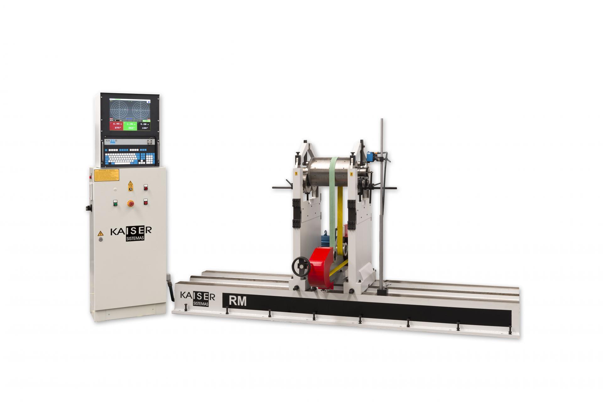 REF 11 - MODEL RM3000-4500.1 HORIZONTAL BALANCING MACHINE