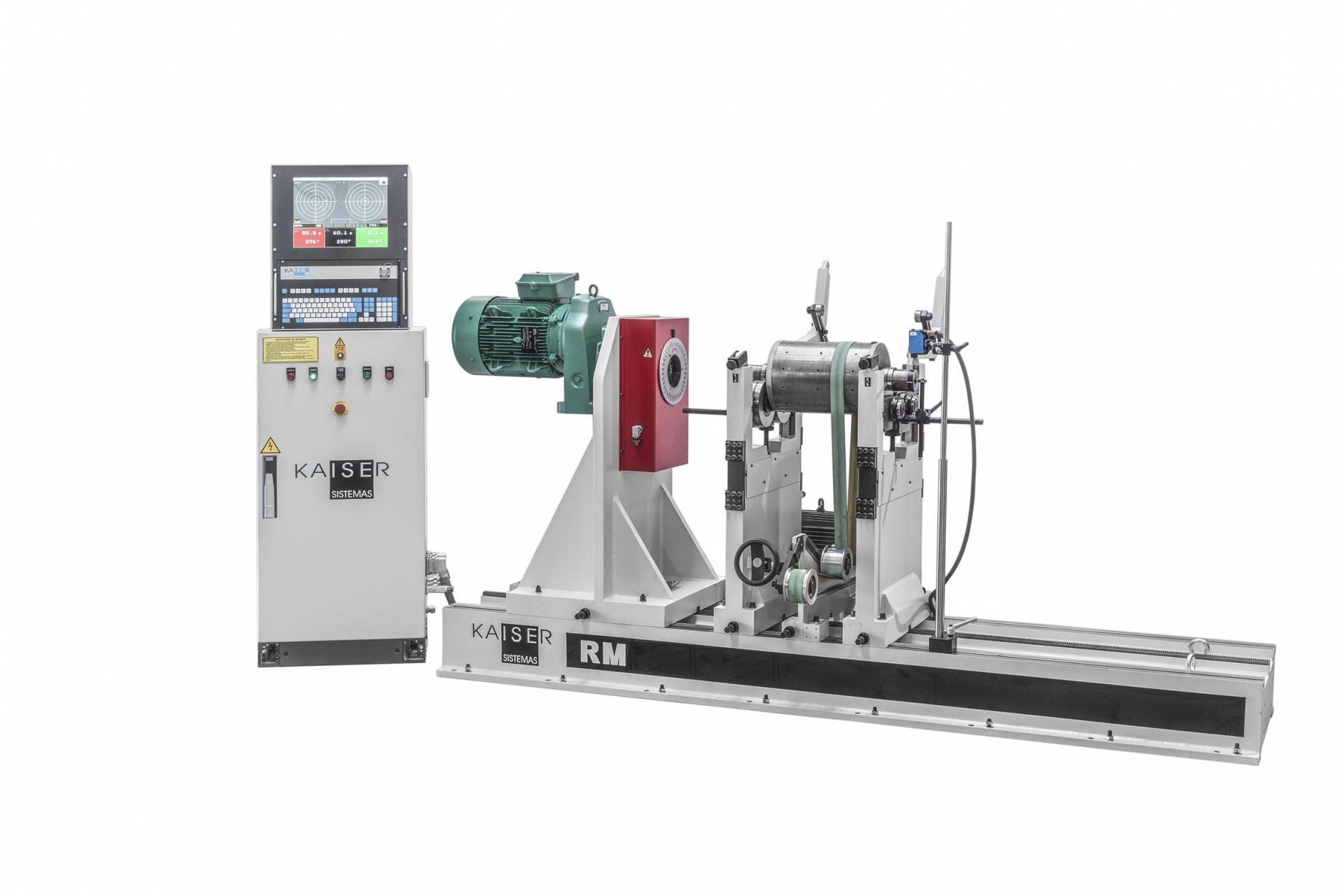 REF 13 - MODEL RM3000-4500.3 HORIZONTAL BALANCING MACHINE
