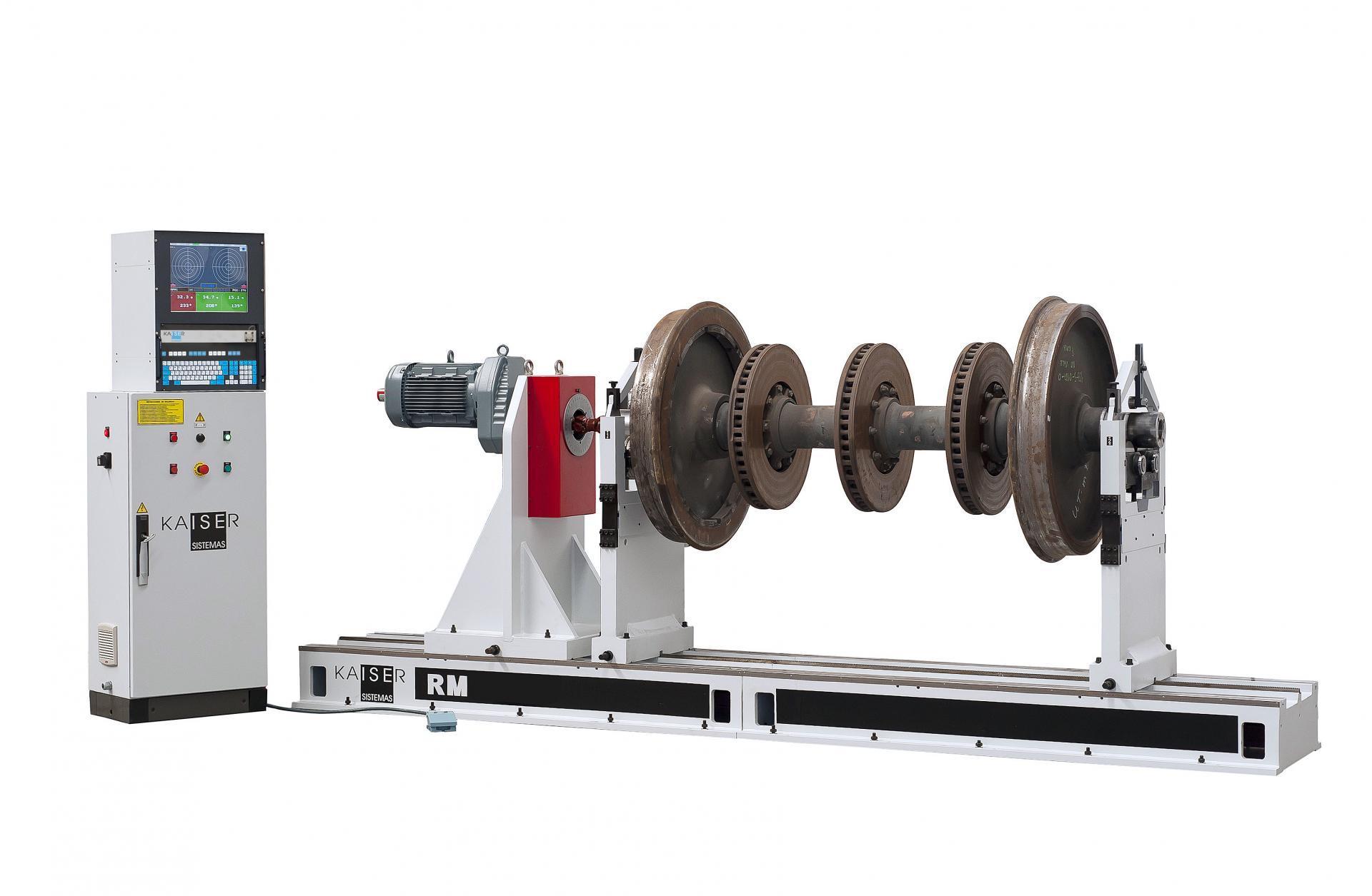 REF 12 - MODEL RM3000-4500.2 HORIZONTAL BALANCING MACHINE