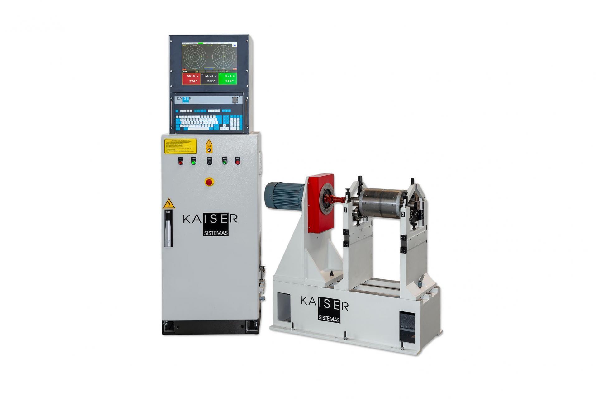 REF 03 - MODEL RM50.2/RM100.2 HORIZONTAL BALANCING MACHINE