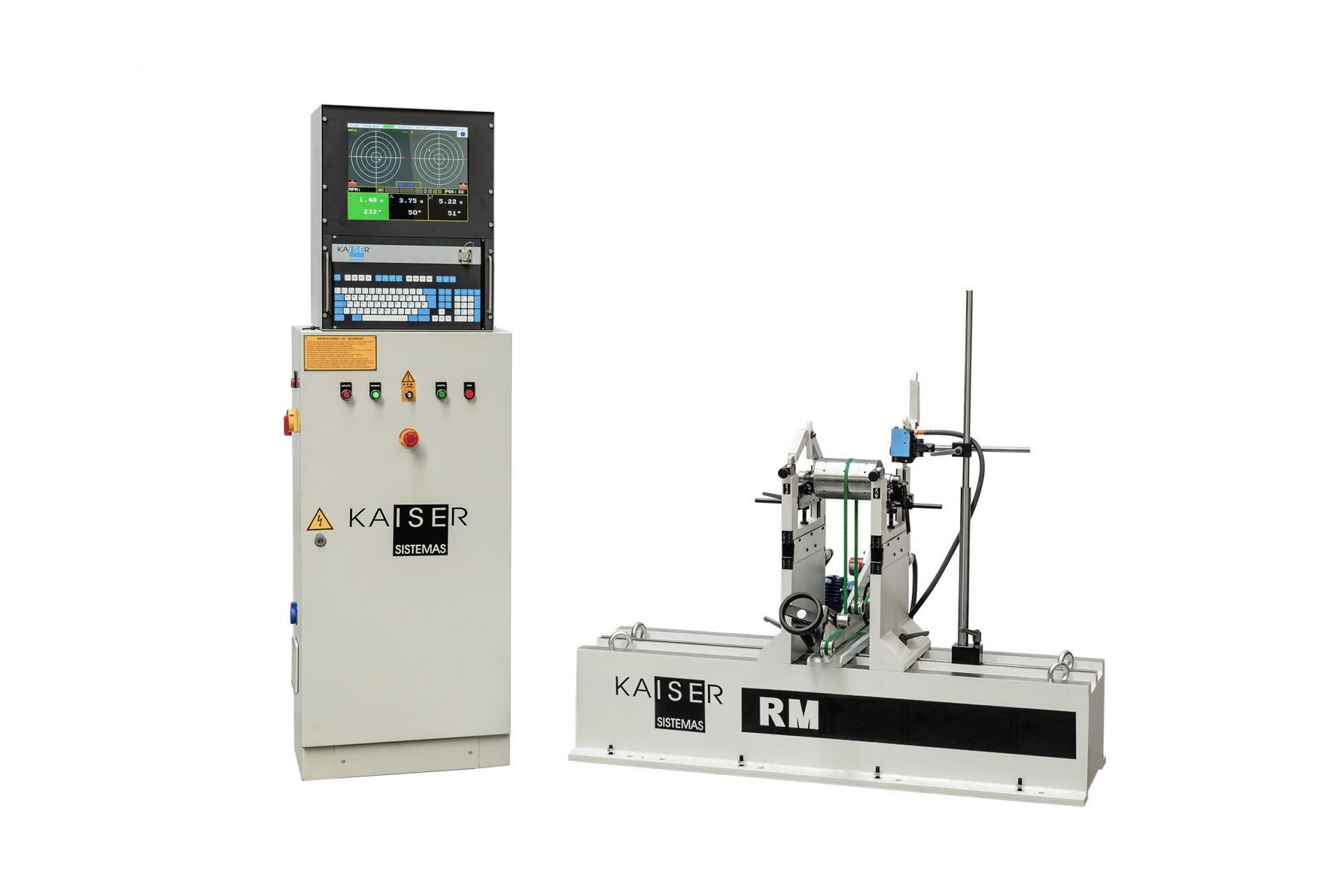 REF 02 - MODEL RM50.1 HORIZONTAL BALANCING MACHINE