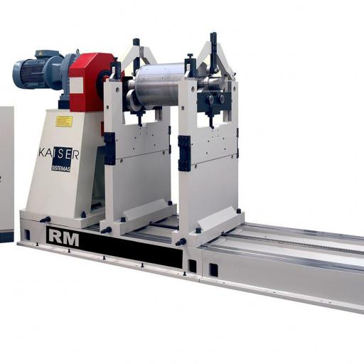 REF 15 - MODEL RM5000-8000.2 HORIZONTAL BALANCING MACHINE