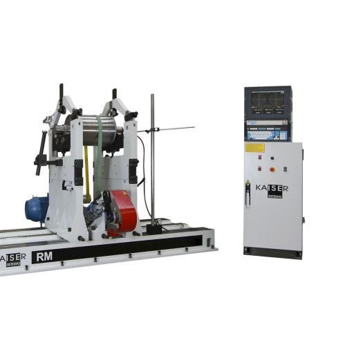 REF 14 - MODEL RM5000-8000.1 HORIZONTAL BALANCING MACHINE