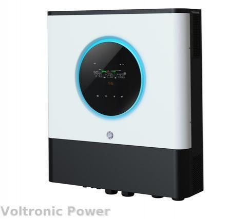 Inversor hibrido axpert max II 8000W tactil con 2 entradas mppt de 150a