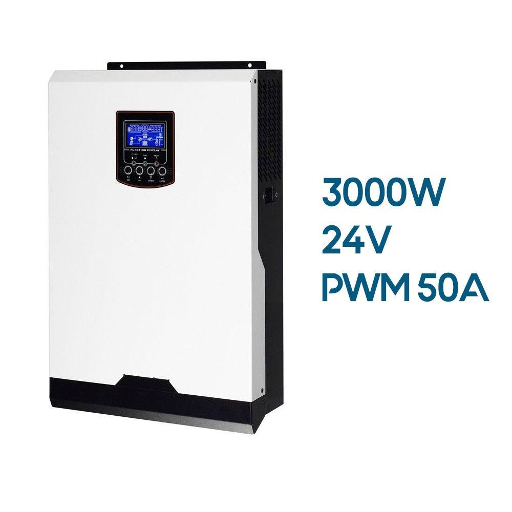 inversor híbrido axpert 3000w 24v PWM