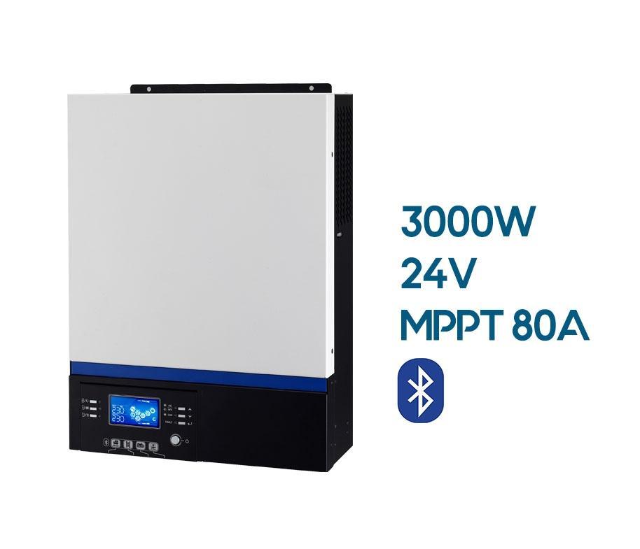 INVERSOR  AXPERT VM III 24V 3000W MPPT 500V 80A